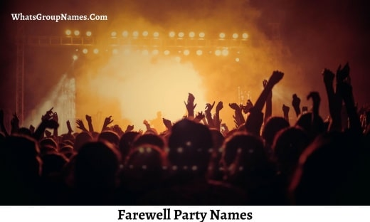 Farewell Party Names